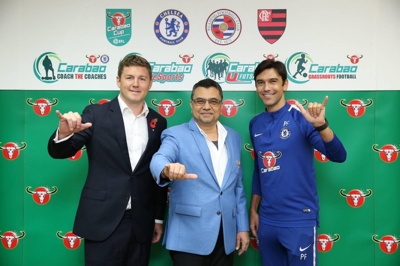 คาราบาว เปิดตัว 4 โปรเจกต์ยักษ์ภายใต้โครงการ Carabao Football Platform สร้างแพลทฟอร์มกีฬา ดันสู่แบรนด์ระดับโลก