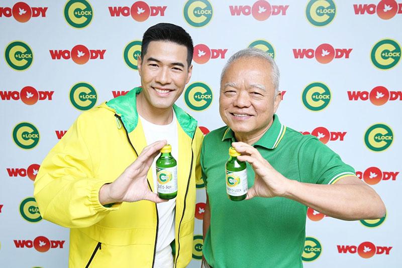 ปรากฏการณ์ครั้งยิ่งใหญ่ของวงการเครื่องดื่มเมืองไทย  คาราบาว จับมือ วู้ดดี้ เปิดบริษัท A Woody Drink จำกัด ผลิตสินค้าและเครื่องดื่มเพื่อสุขภาพสำหรับคนรุ่นใหม่ นำร่องด้วยเครื่องดื่มวิตามินซี Woody C+ Lock ที่ล็อคคุณค่าวิตามินซีในขวดได้ดีกว่า มอบความสดชื่น